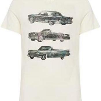 T-shirt met oldtimers