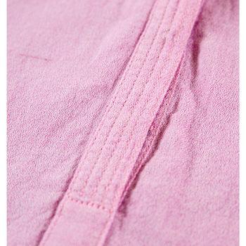Roze jurk met tailleceintuur garcia