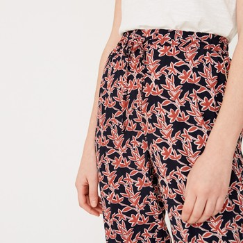 Flowing print trousers yerse