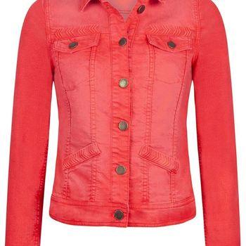 Jacket Tonal Embroidery tramontana
