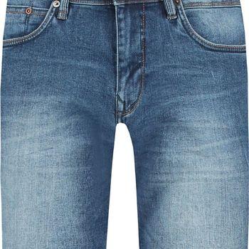 Mediumblauwe denim short garcia