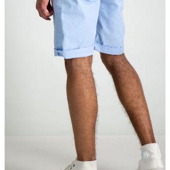 Lichtblauwe short garcia