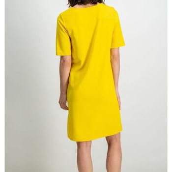 Gele jurk met zakken garcia