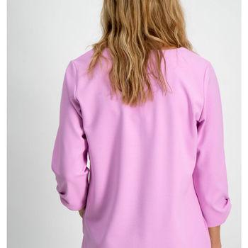 Roze blousje met 3/4 mouwen Garcia