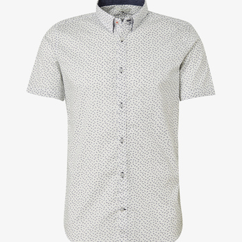 PATTERNED SHORT SLEEVE SHIRT tom tailor
