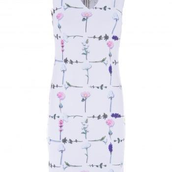 jurk ronde hals pendent k-design