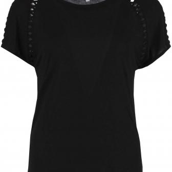 Zwart t-shirt enjoy