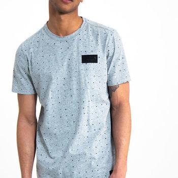 T-shirt met allover print