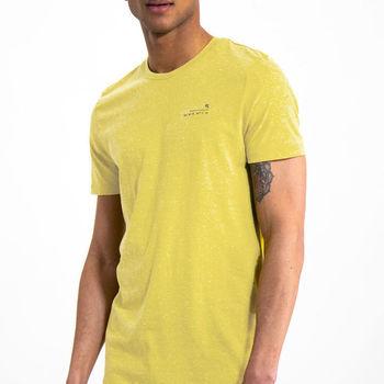Geel T-shirt met korte mouwen