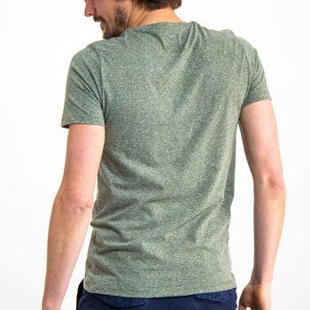 Groen T-shirt met korte mouwen