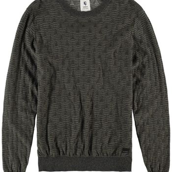 Legergroene sweater