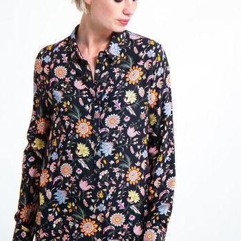Tuniek met bloemenprint